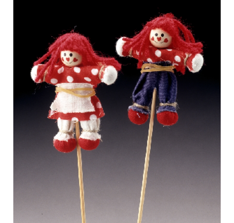 Valentine Doll Pick