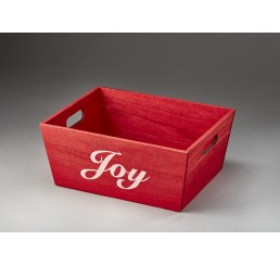 Rectangular Wooden Container