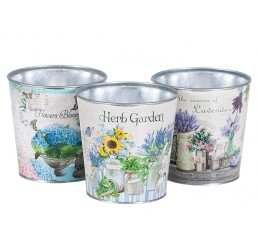 Garden Design Metal Container