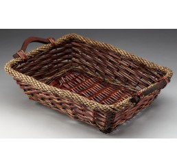 Rectangular Willow/Rope Tray