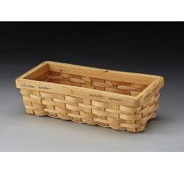 Rectangular Woodchip Basket