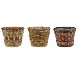3 Assorted Design Planters
