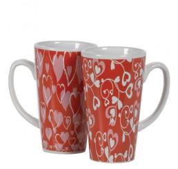 Ceramic Valentine Mugs