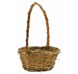 Round Twiggy Vine Basket