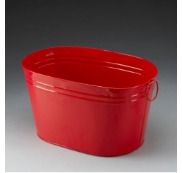 Oval Metal Pail