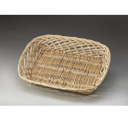 Rectangular Open Weave Willow Tray -Large