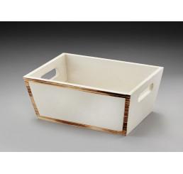 Rectangular Wood Container