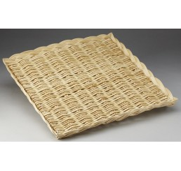 Square Willow Packaging Tray