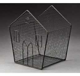 Metal House-Shaped Container - Small Size   *Avail Approx 3/9
