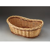 Two-Tone Oblong Willow Tray