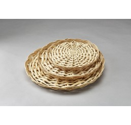 "10"" Round Split Willow Packing Tray **VERY LOW INVENTORY!**"