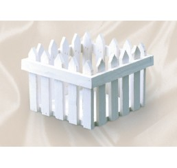 White Wash Picket Fence