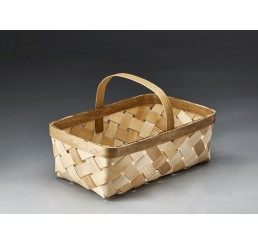 "14""L Rectangular Woodchip Basket"