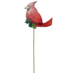 Wooden Cardinal Pick