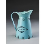 French-Inspired Metal Pitcher
