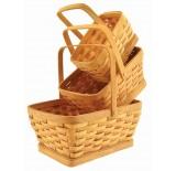 Rectangular Woodchip Set/3