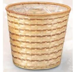 """8"""" Bamboo Planter Basket / Pot Cover"""