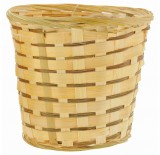 "14"" BAMBOO PLANTER BASKET / POT COVER"