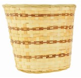 "12"" BAMBOO PLANTER BASKET / POT COVER"