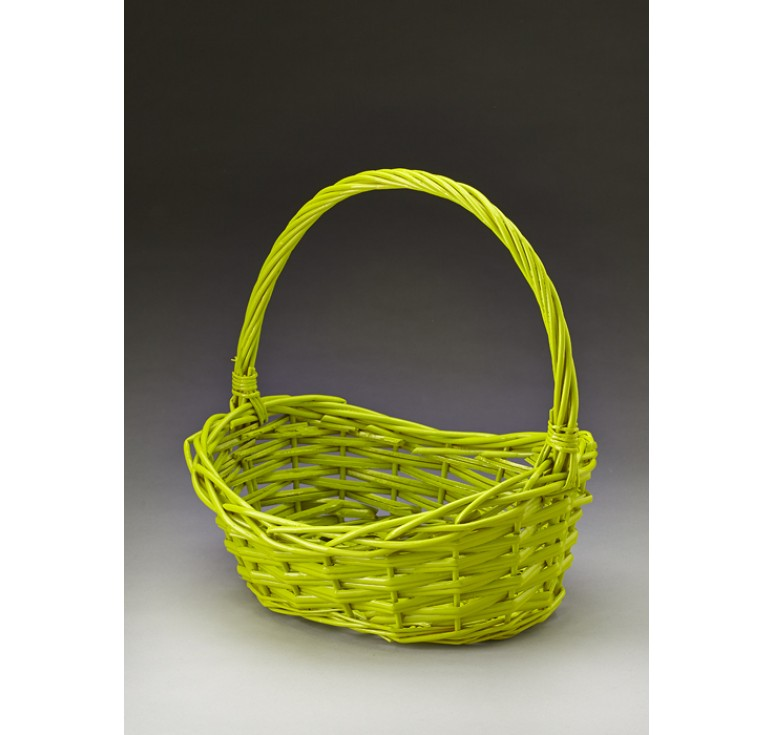 Oval Willow Single Basket