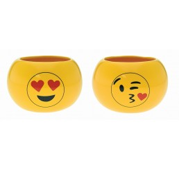 Ceramic Emoji Containers