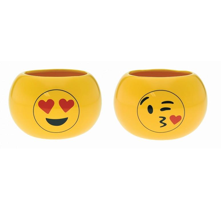 Ceramic Emoji Containers