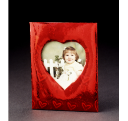 Corrugated Picture Frame