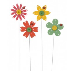 Wooden Flower Pick