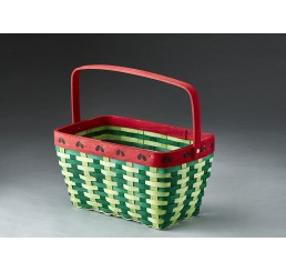 Woodchip Watermelon Design Basket