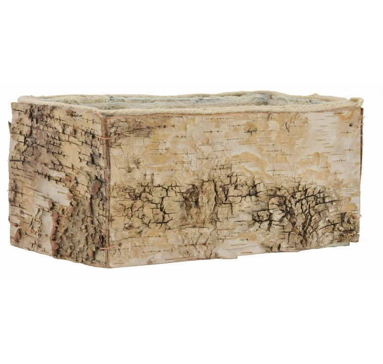 Rectangular Birch Container