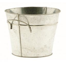 Galvanized Metal Bucket - 7""