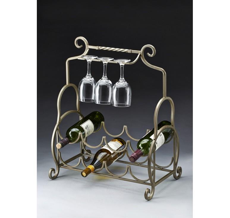 Wine Rack Metal : Metal Wine Rack