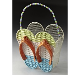 Flip Flop Design Wall Basket