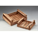 Rectangular Set/3 Wooden Trays