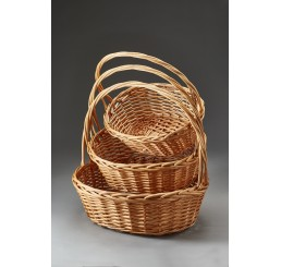 Large Oval Willow Set/3