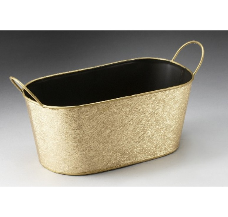 Oval Metal Container