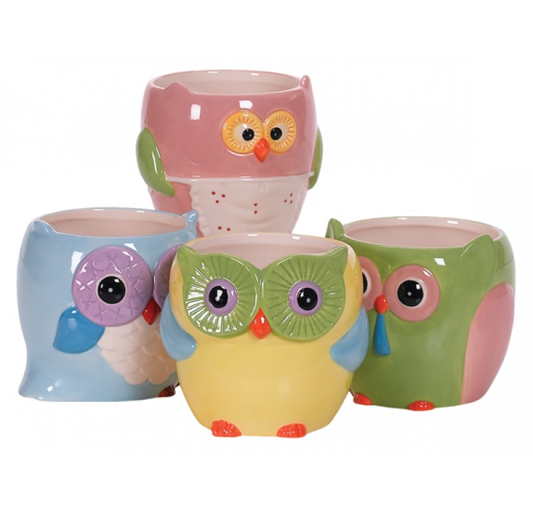 Ceramic Owl Pottery
