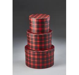 Set/3 Round Paperboard Box
