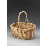 Indonesian Rattan Single Basket
