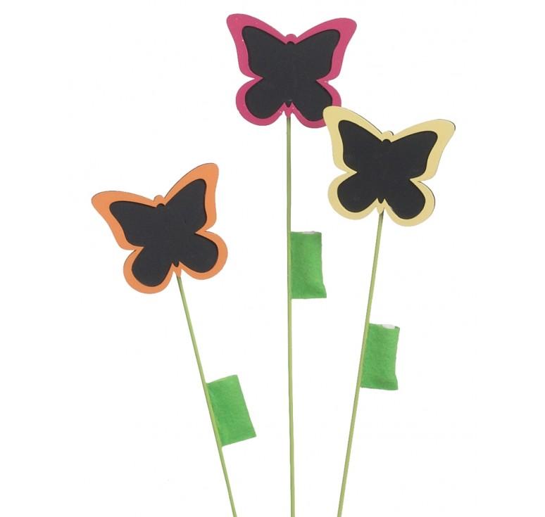 Chalkboard Butterfly Pick