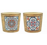 Southwest-Inspired Design Ceramic Pots *Very Low Inventory