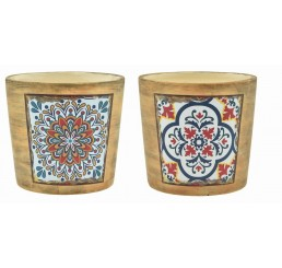 Southwest-Inspired Design Ceramic Pots