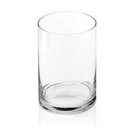 """10"""" Hand Blown Glass Cylinder"""