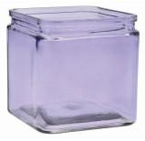 Glass Cube - Lavender