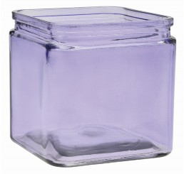 Glass Cube - Lavender *Very Low Inventory