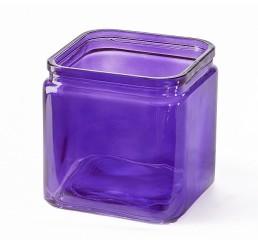 Glass Cube - Purple
