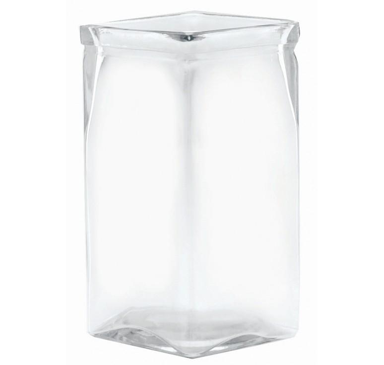 "8"" Tall Machine Glass Vase"