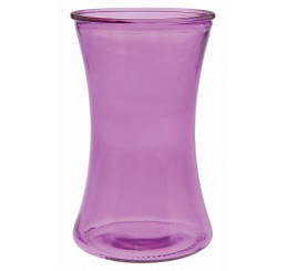 Colored Glass Vase - Orchid