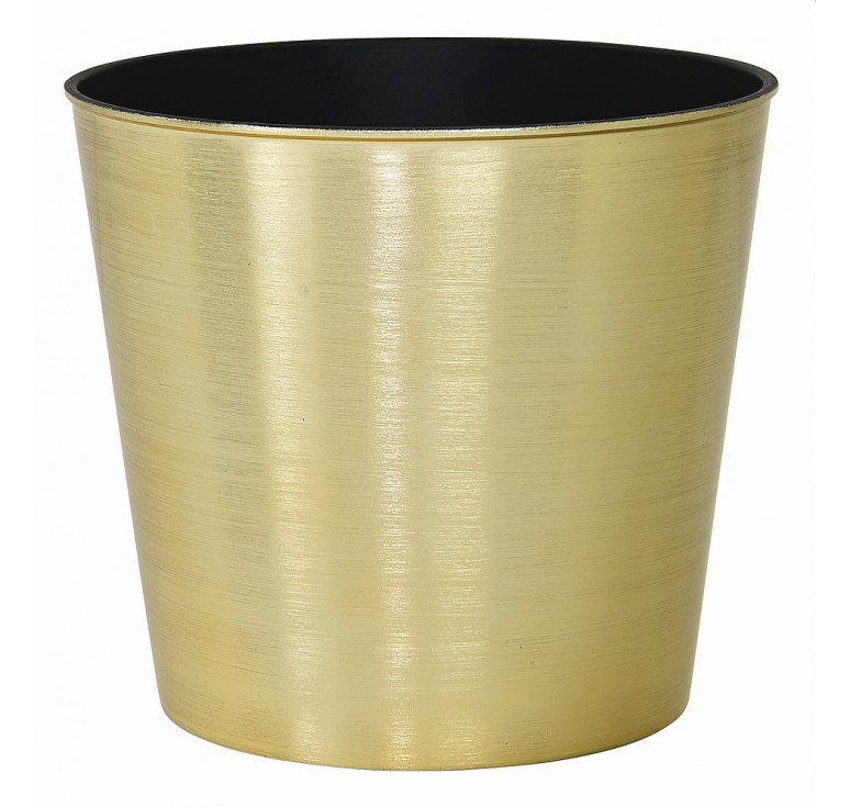 Recycled Plastic Container - Gold