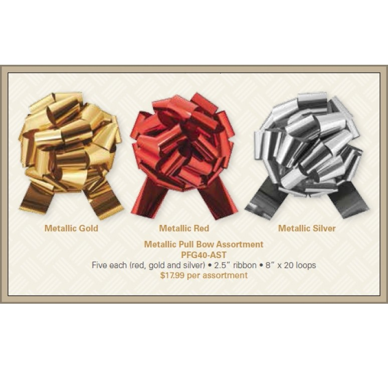 Metallic Pull Bow Assortment